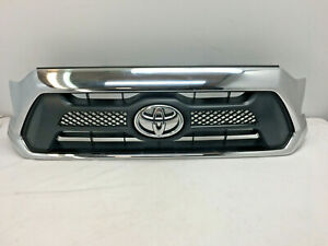 2012 2013 2014 2015 Toyota Tacoma Front Bumper Grille Oem 53100 04470