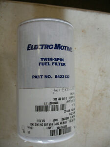 Twin spin Fuel Filter 8423132 Electro Motive Made In Usa lot Of 4