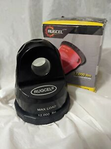 Rugcel Winch Hook Shackle Mount 12000lb Max Load Rating Work W 3 4 7 8 D ring