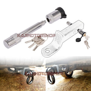 5 8 Locking Hitch Pin With Cover And 3 Keys Truck Trailer Receiver Security