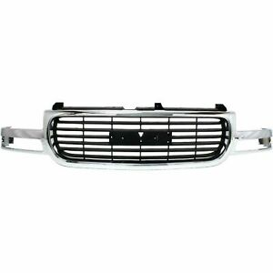 New Grille For 1999 2002 Gmc Sierra 2000 2006 Gmc Yukon Gm1200430 Ships Today