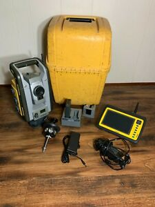 Trimble Rts555 5 Dr Std Robotic Total Station Yuma 2 Field Link Mep Structures