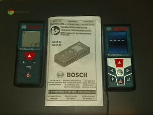 2 Bosch Professional Glm 30 Glm 50 C Measuring Lasers W New Batteries