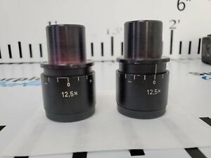 Carl Zeiss Opmi 12 5x Eyepieces Free Shipping