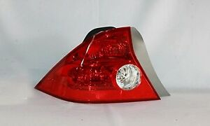 Left Tail Light For Honda Civic coupe 2004 2005 33551s5pa11 Ho2800155
