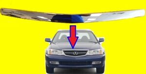 Grille For Acura Tl 2002 2003 75120s0ka02 Ac1217100
