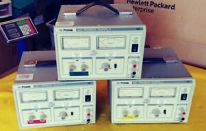 Lot Of 3 Protek 303 Dc Power Supply Used