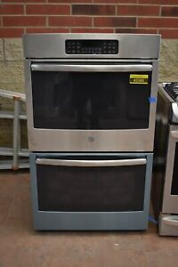 Ge Jt3500sfss 30 Stainless Double Electric Wall Oven Nob 42382 Hrt