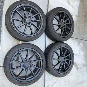 18inch Wheels And Tires 5x120 Set Of 4