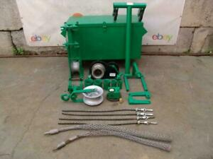 Greenlee 6500 Lbs Cable Wire Super Tugger Puller Works Great Greenlee 6001