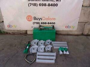 Greenlee 882 Hydraulic Bender 1 1 4 To 2 Inch Emt Rigid Conduit Pipe Great 2