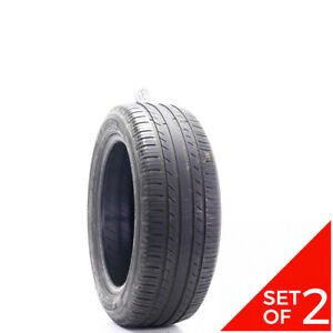Set Of 2 Used 235 55r18 Michelin Premier Ltx 100h 5 5 6 32