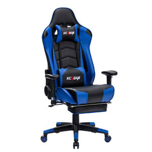 400 Lb Heavy Duty Big And Tall High Back Computer Gaming Chair Recliner Footrest