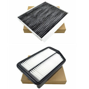 Combo Set Engine Cabin Air Filter For Hyundai Elantra Coupe Gt Kia Forte Koup