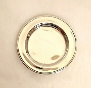 Miniature Sterling Silver Plate Dollhouse 1 12 Artist Obadiah Fisher