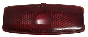 1941 1948 Chevrolet Chevy Stimsonite 81 Red Glass Tail Light Lens Guide R 1