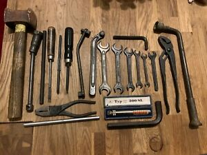 Original Mercedes Benz W198 300sl Gullwing Tool Toolkit Hazet Dowidat Messko
