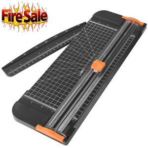 A4 Paper Cutter Paper Trimmer With Automatic Security Safeguard And Side Ruler