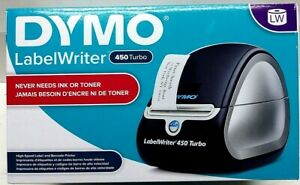 Dymo Label Writer 450 Turbo Fast Label Printer 71 Label Per Minute 1752265 New