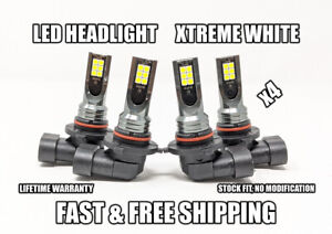 Factory Fit Led Headlight Bulb For Chevrolet Corsica High Low Beam 1987 1996