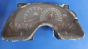 98 02 Camaro Ss Z28 150mph Instrument Cluster With Connector