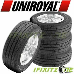 4 Uniroyal Tiger Paw Touring 255 45r19 100v All Season a s Tires