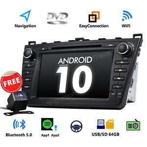 Cam for Mazda 6 2010 2011 2012 2009 Android 10 8 Car Dvd Player Gps Navi Stereo