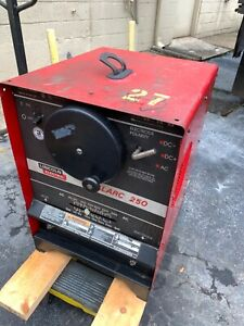 Lincoln Idealarc 250 Ac dc Stick Welder