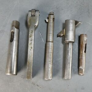 Lot Of Lathe Threading Knurling Turning Tools Holders