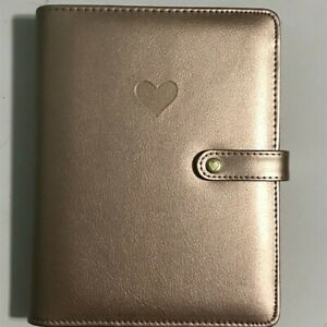 The Happy Planner Mini Deluxe Cover Rose Gold New