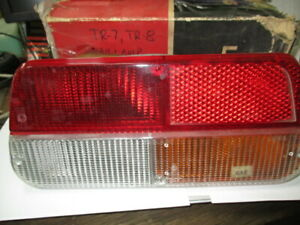Triumph Tr7 Tr8 Right Tail Lamp Assembly Nos Lucas 56651 With Bulbs And Sockets