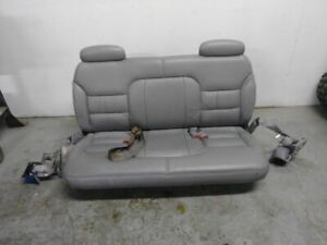 1999 Chevrolet Suburban 1500 Grey Leather 3rd Seat complete With Seat Belts