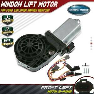 Window Lift Motor W 9 Tooth For Ford Explorer Ranger Lincoln Mercury Front Left