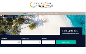 Beautiful Travel Hotel Flight Search Engine And Booking Affiliate Website