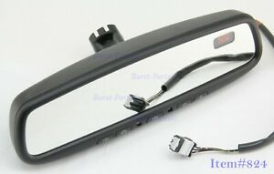 Auto Dimming Rear View Mirror 3 Wire Homelink Compass Gntx 453 2006 2014 Nissan