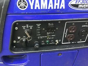 Yamaha Ef3000iseb 3000w Portable Inverter Generator Local Pick Up Only