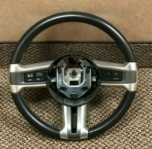 Ford Mustang Steering Wheel Black Leather 2010 2014