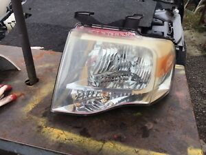 2007 2008 2009 2010 2014 Ford Expedition Left Driver Side Headlight Assembly Oem