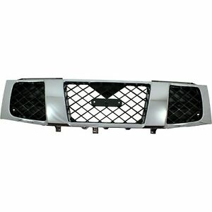 New Grille For 2004 2007 Nissan Titan 2005 2007 Armada Ni1200210 Ships Today