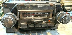 1977 Chevrolet Camaro Gm 8 Track Am Fm Stereo Push Button Radio Fully Working
