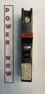 Federal Pacific Fpe Stab lok Breaker 1 Pole 30 Amp 120v Thin Ships Today