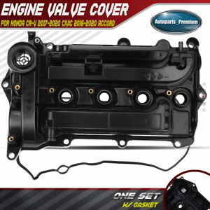 Engine Valve Cover With Gasket For Honda Accord Civic Cr v L4 1 5l Turbocharged