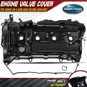 Engine Valve Cover With Gasket For Honda Accord 2013 2017 Cr V 2015 2019 L4 2 4l