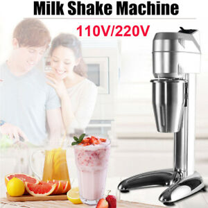 Electric Commercial Milk Shake Machine Milkshake Mixer Tea Drink Mix Blender