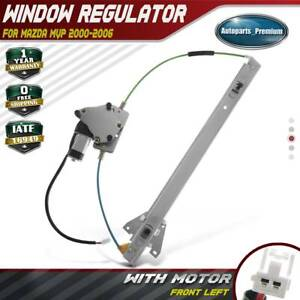 Front Left Lh Power Window Regulator With Motor For Mazda Mpv 2000 2006 741 922