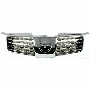 New Chrome Grille For 2004 2006 Nissan Maxima Ni1200203 Ships Today