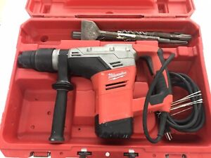Milwaukee 5316 20 Corded Spline Hammer Drill Sds Max Rotary Hammer Used