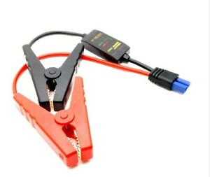 Car Jump Starter Connector Booster Cable Alligator Clamp Plug Battery Clips Ec5