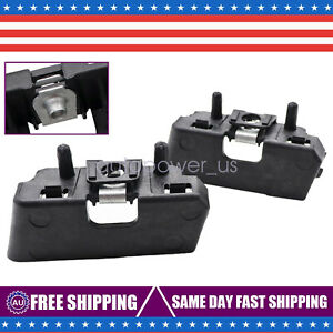 Front Bumper Upper Cover Outer Support Bracket Right Left For 2009 18 Ram 1500
