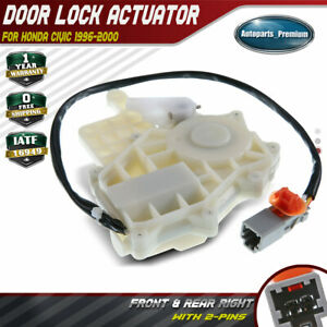 Door Lock Actuator Front Or Rear Right For Honda Civic L4 1 6l 1996 2000 746 364